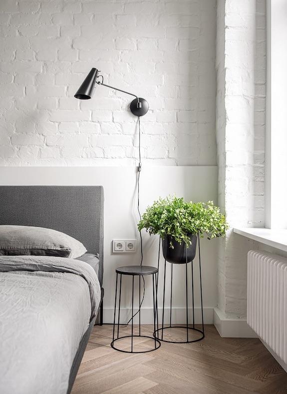 decoralinks | #casa #dormitorio #bedroom #zocalo #minimalismo #allwhite