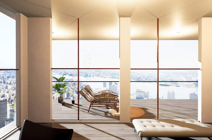decoralinks | 3d render realizado con Jump into Design  #3drender #jumpintodesign #livingroom #penthouse