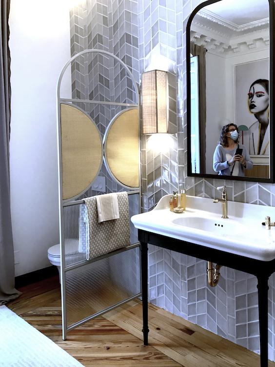 #bathroom #jacobdelafon #lavabo #biombo