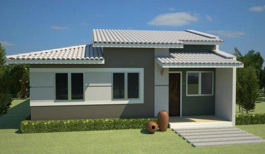Resultado de imagem para imagem de casas simples