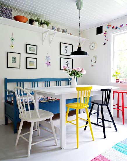 cadeira vintage colorida 1