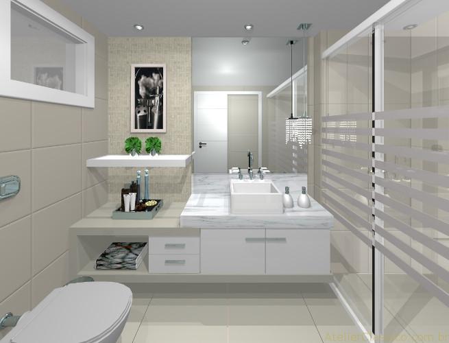 Decoração para banheiro moderno - Dicas de profissional 10