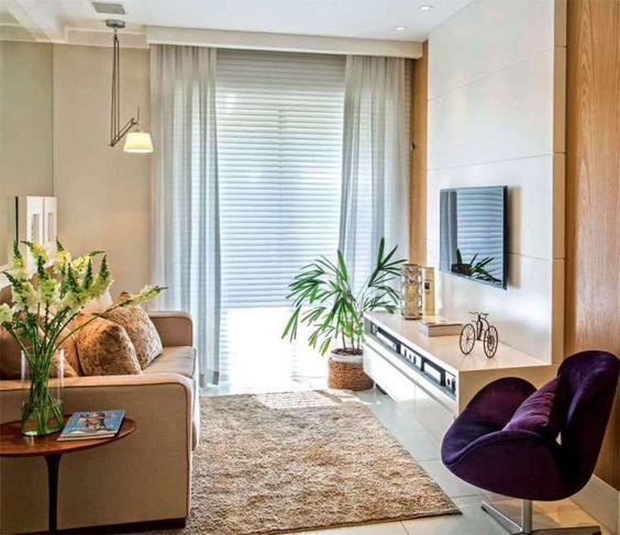 cortinas para salas pequenas 2