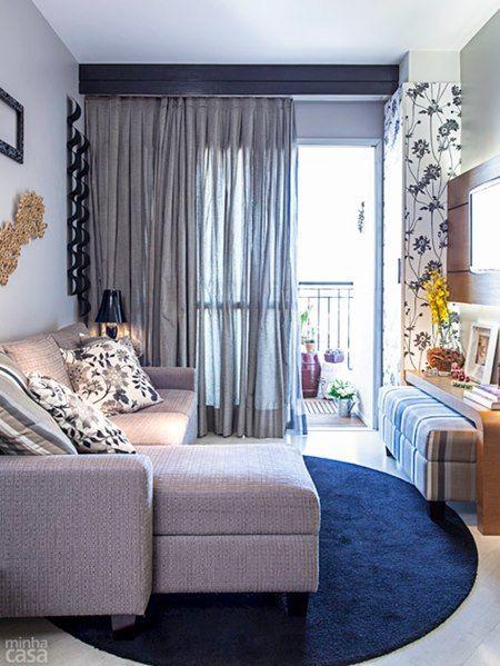 cortinas para salas pequenas 4