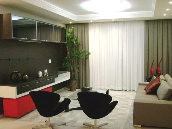 cortinas para salas pequenas 6