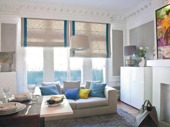 cortinas para salas pequenas 8