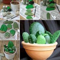 10 ideas fabulosas para decorar tu jardín con piedras de colores