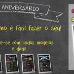 Chalkboard Aniversário Infantil – Bela Opção para decoração!