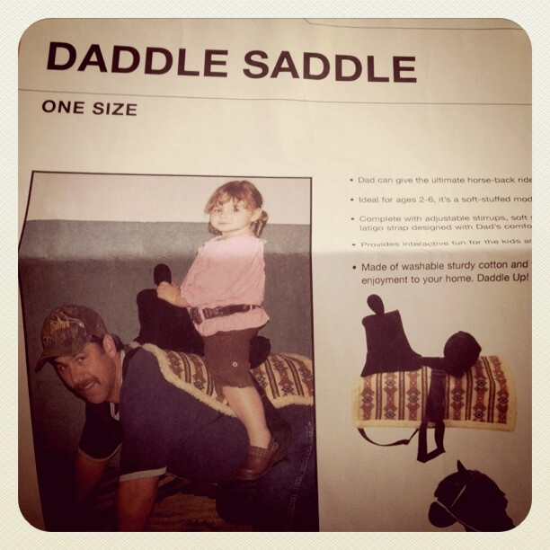 Brincadeira cavalinho no papai sela daddle saddle