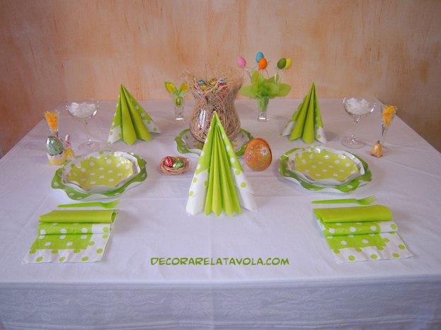 Idee per apparecchiare la tavola a Pasqua