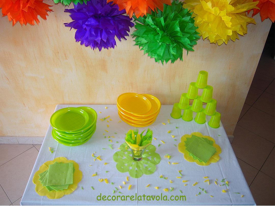 Come preparare una tavola per party con amici decorare la tavola - A tavola con amici ...
