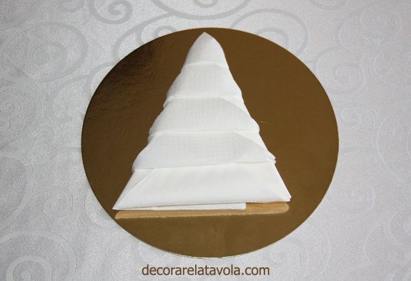 Tutorial Piegare Tovaglioli Ad Albero Di Natale Decorare La Tavola