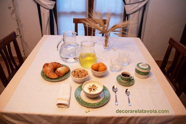 Come apparecchiare a colazione