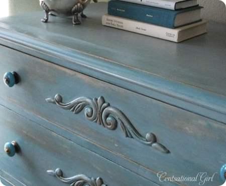 dresserdetailmore thumb. How to Antique Furniture   DIY Antiquing Furniture  Decorated Life