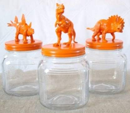 kids storage jars