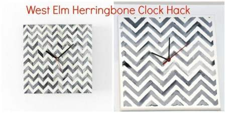 WestElm-Herring-Bone-Clock-Hack