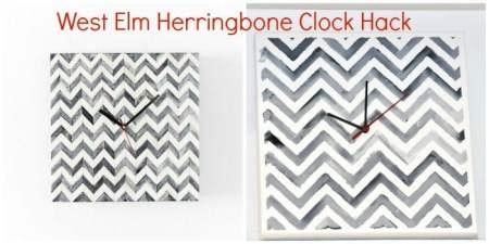 WestElm-Herring-Bone-Clock-Hack