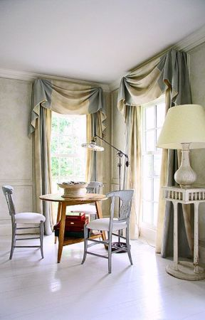 romantic swag from Traditionalhome