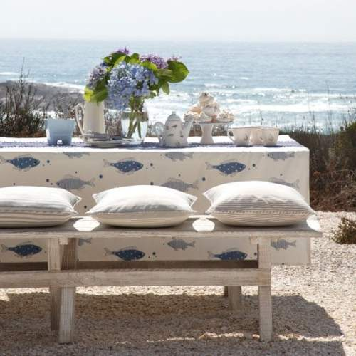 beach decor - alfresco-dining