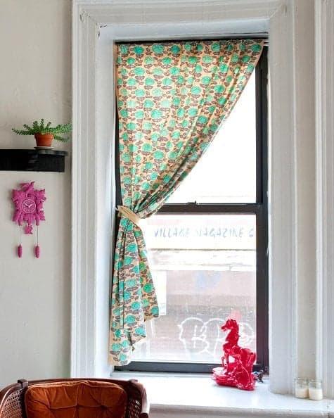 fun living room curtains making