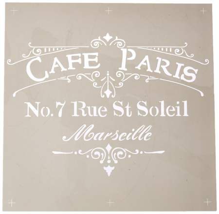 stencil cafe de paris