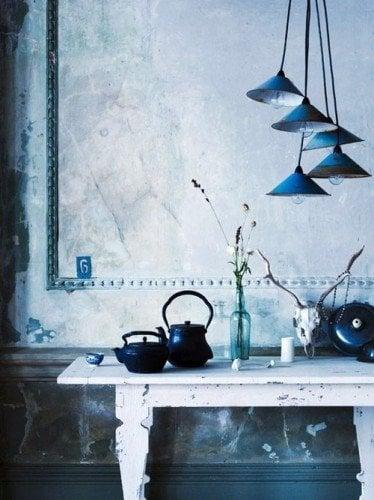 Blue and Indigo color theme