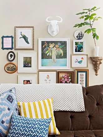 create a feature wall