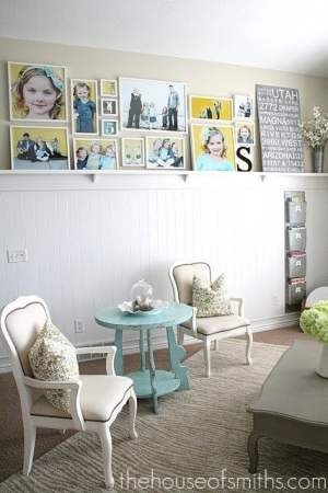 Gallery-Wall-Layout-with-IKEA-frames house of smiths