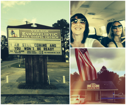 Church, Roadtrip and Country Meats