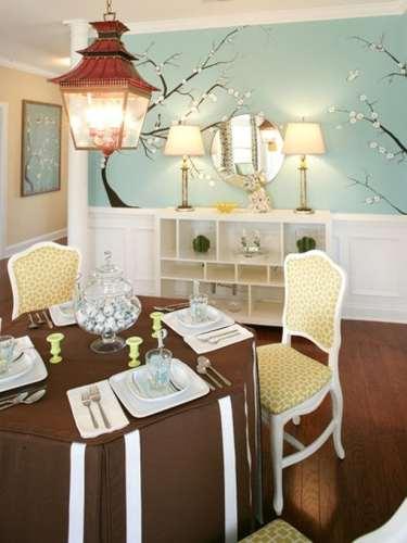dining room shelving