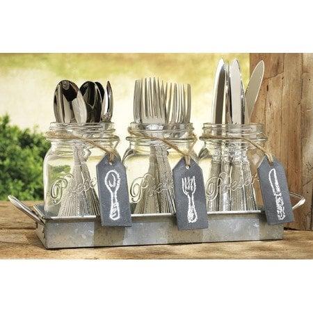 4-Piece+Franklin+Cutlery+Caddy+Set