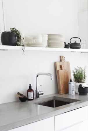 simple kitchen decorating