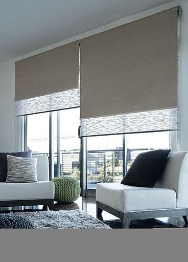 9 Modern Window Roller Blinds Shade Design Ideas