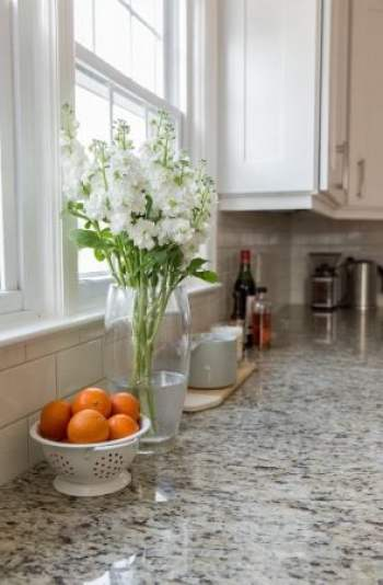 Simple White Cabinets