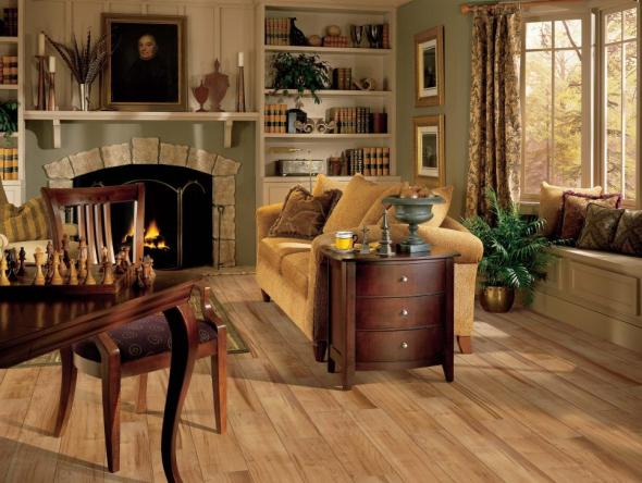 blonde laminate floor option HGTV