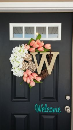 monogram for front door