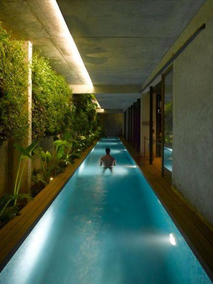 Indoor pool design  Trending Swimming Pool Design Ideas for 2017 -Decorated Life