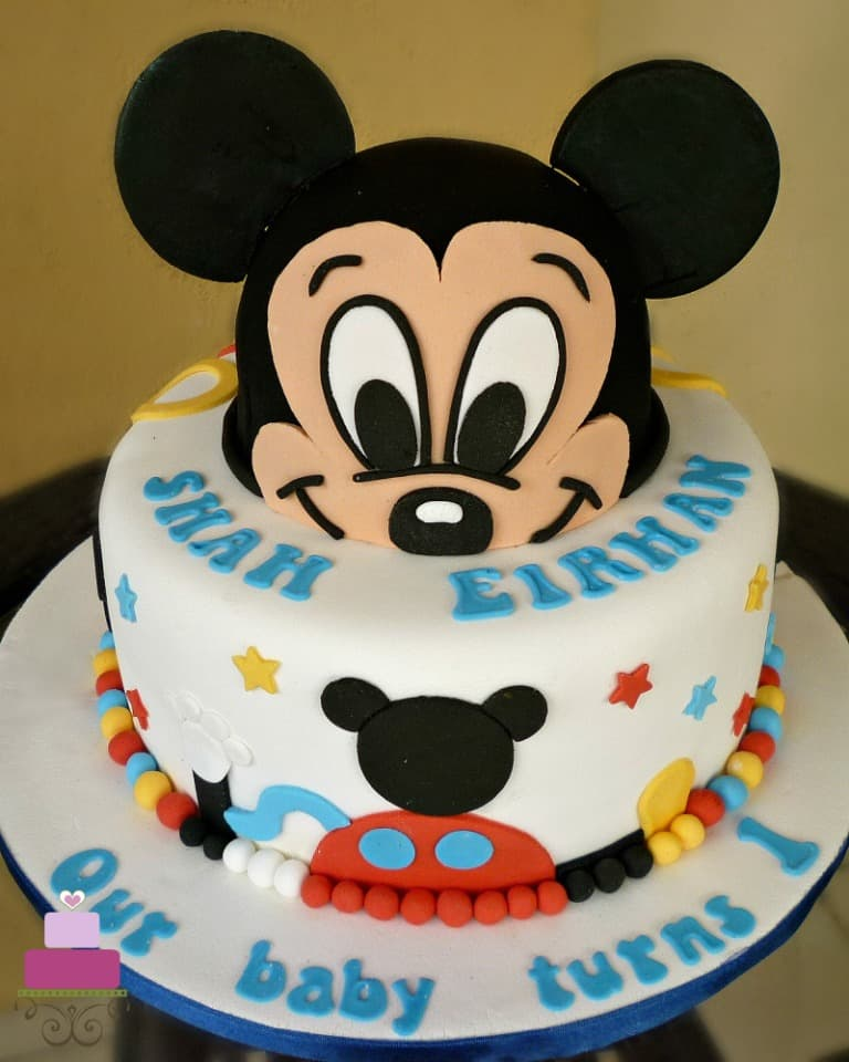 See more ideas about mickey mouse cake, mouse cake,. Mickey Mouse Clubhouse Cake For 1st Birthday Decorated Treats