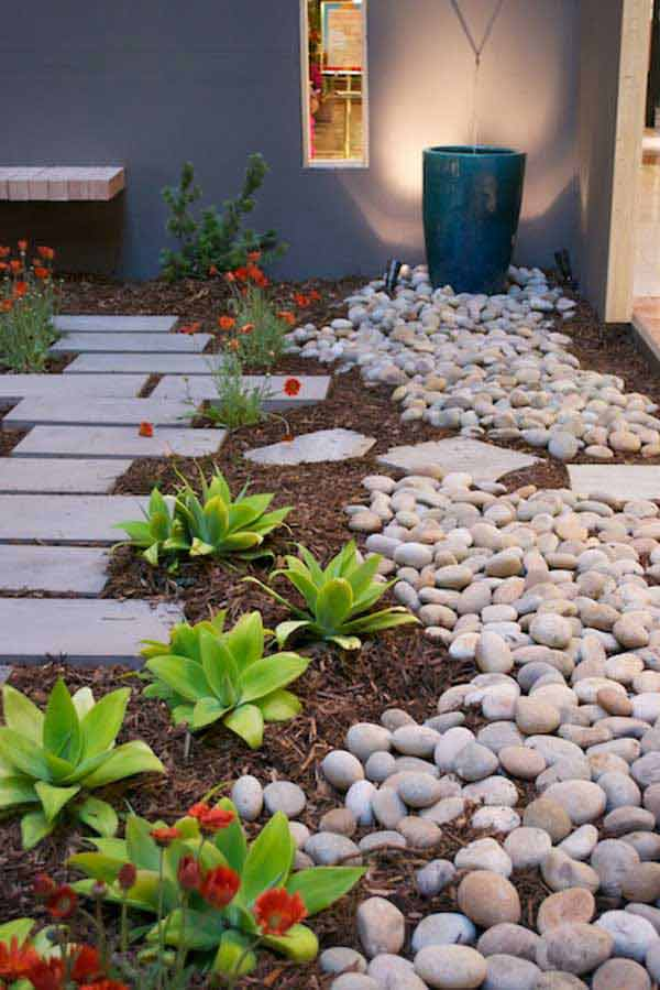 15+ Creative Ideas For Rocks Decorated Home on Rock Decorating Ideas  id=32119