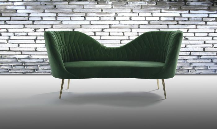 Ο πιο εντυπωσιακός καναπές του άρθρου ακόμα και αν δεν είναι στυλιζαρισμένος!