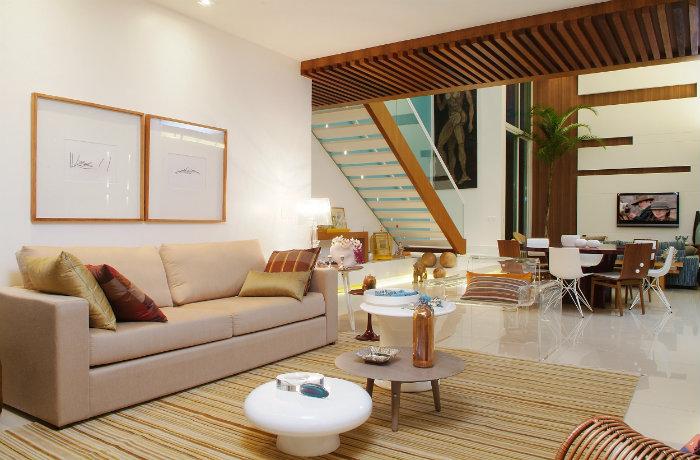 Το μπεζ αποτελεί εξαιρετική επιλογή, τόσο για μεγάλα, όσο και για πιο μικρά δωμάτια.
