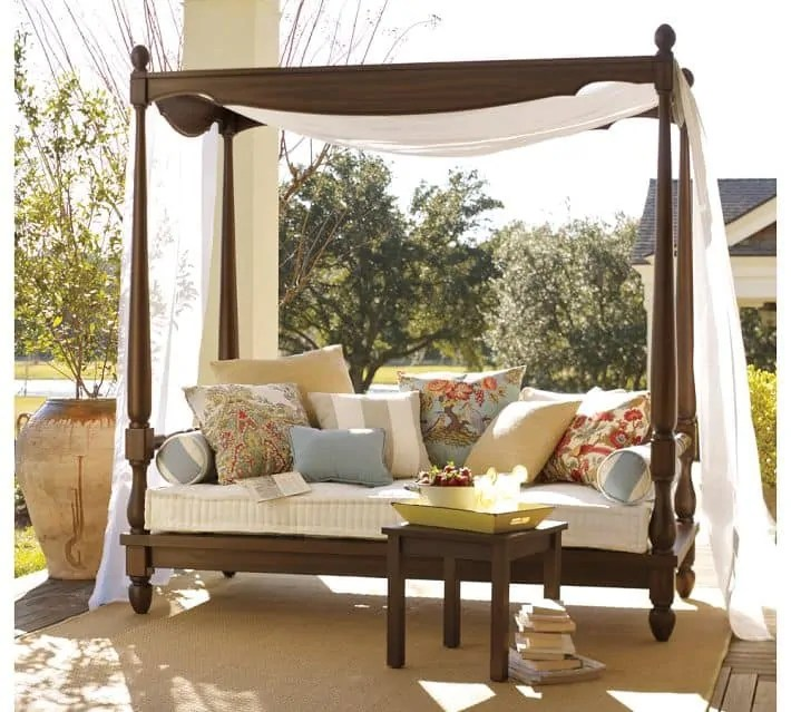 Outdoor Daybeds Furniture - Decoration Channel on Living Spaces Outdoor Daybed id=72113