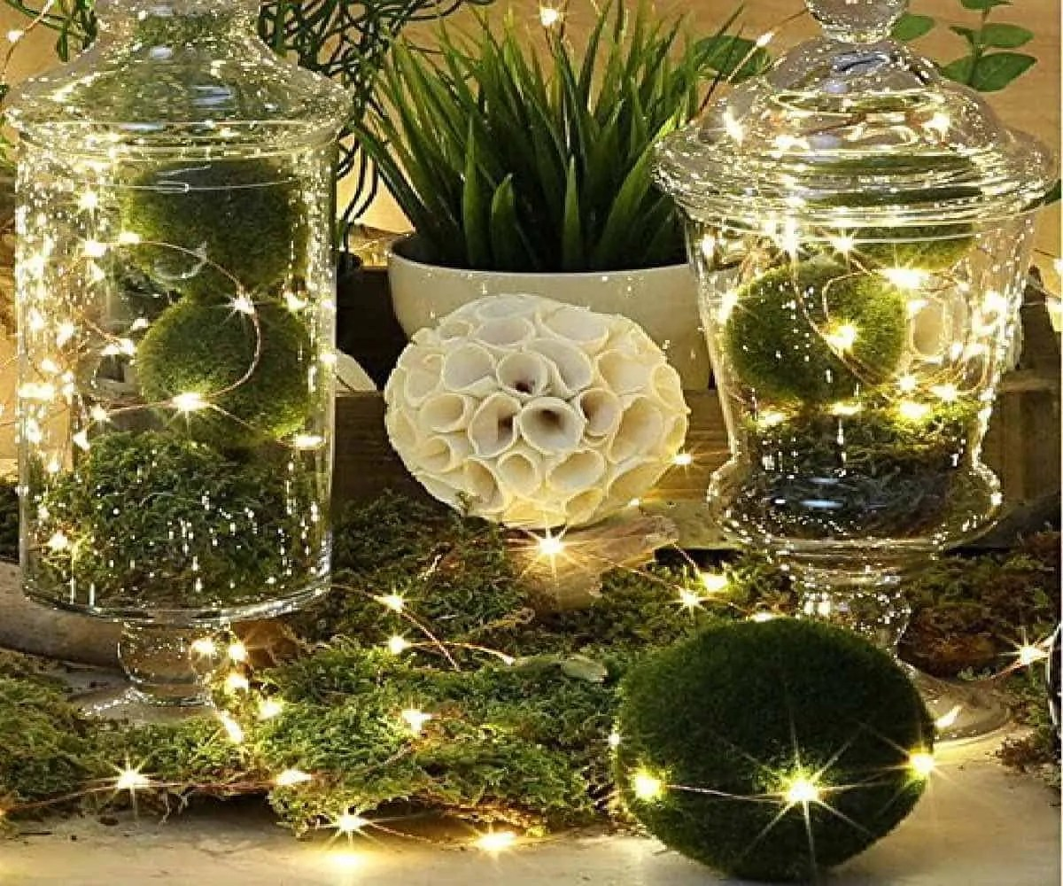 35 Cozy Indoor and Outdoor Christmas Decorations ... on Patio Decorating Ideas With Lights  id=28045