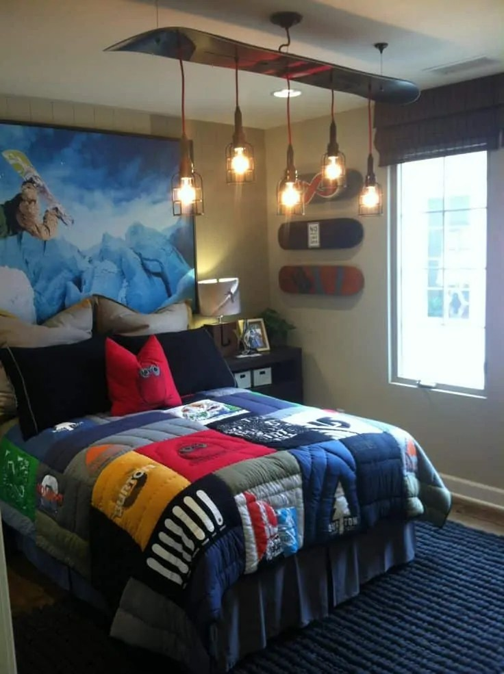 24 Modern and Stylish Teen Boys Room Ideas - Decoration ... on Rooms For Teenagers  id=60265