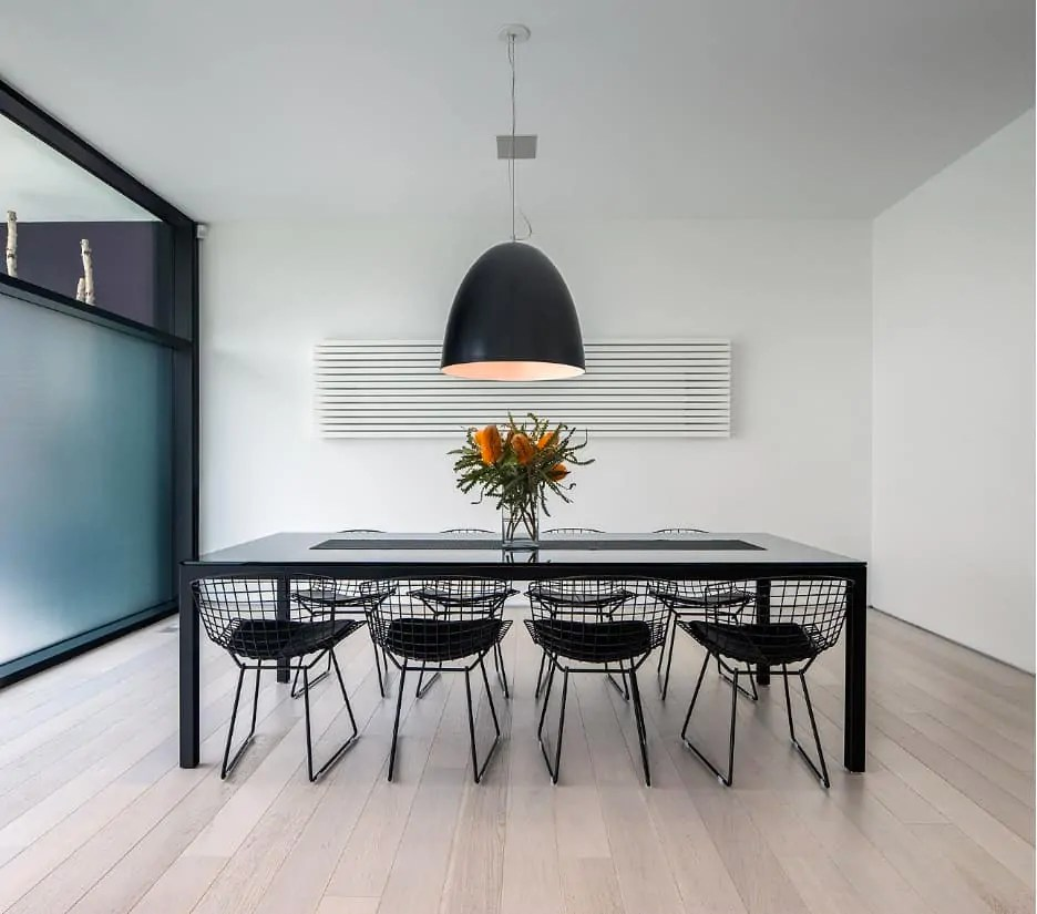 Modern Design Wire Dining Chairs - Decoration Channel