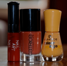 Vernis Orange ardent