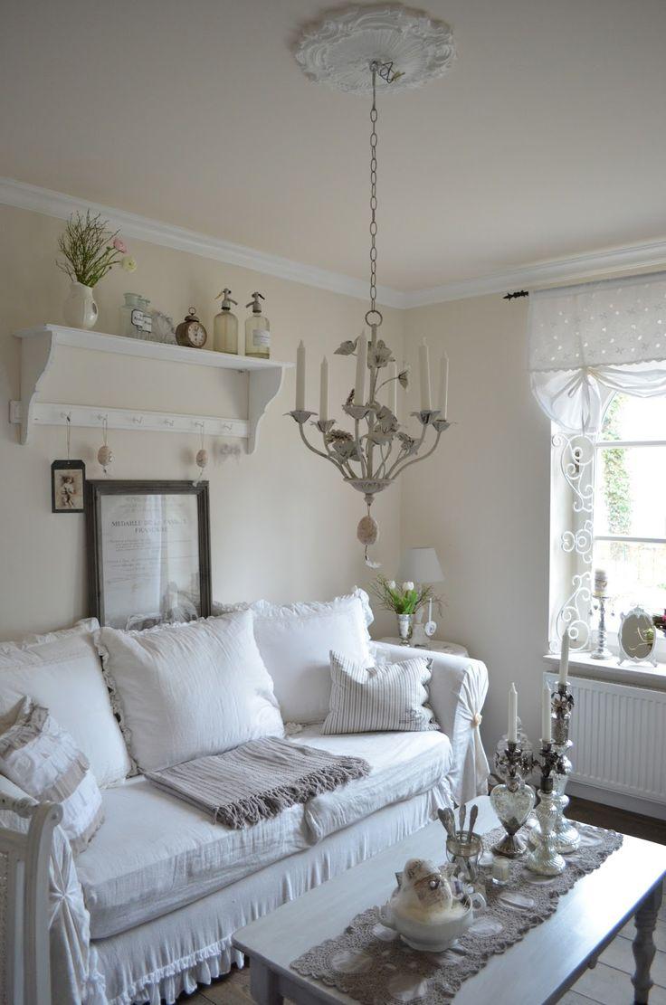 25 Shabby-Chic Style Living Room Design Ideas - Decoration ... on Decor Room  id=94204