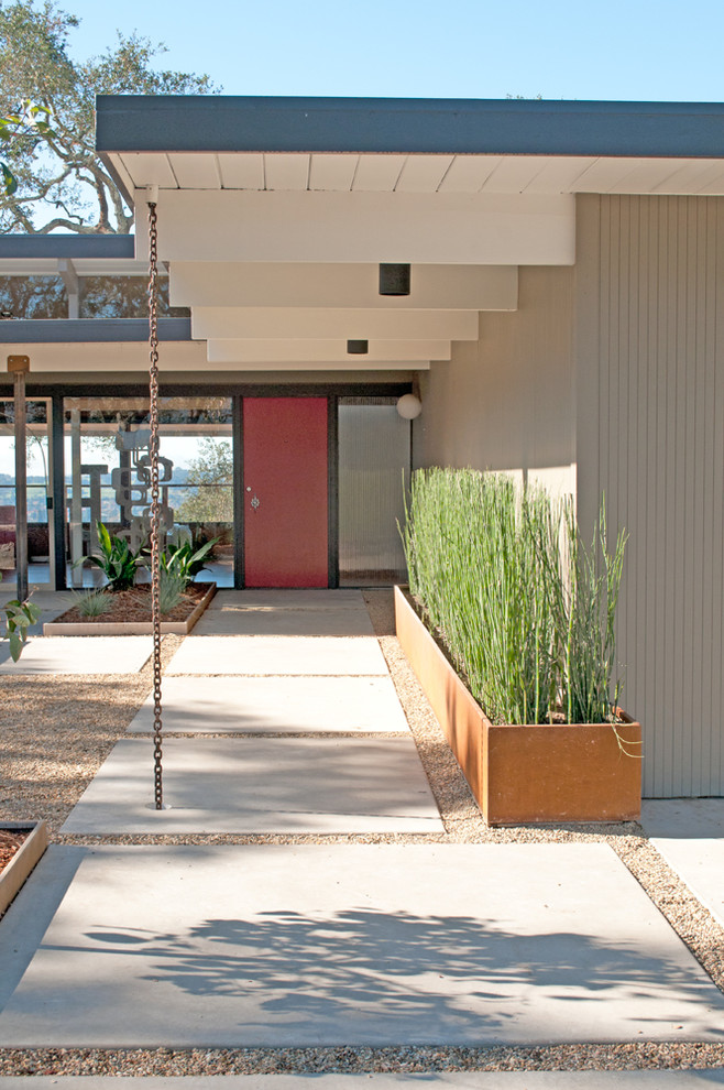 25 Midcentury Exterior Design Ideas - Decoration Love on Modern House Painting  id=33061