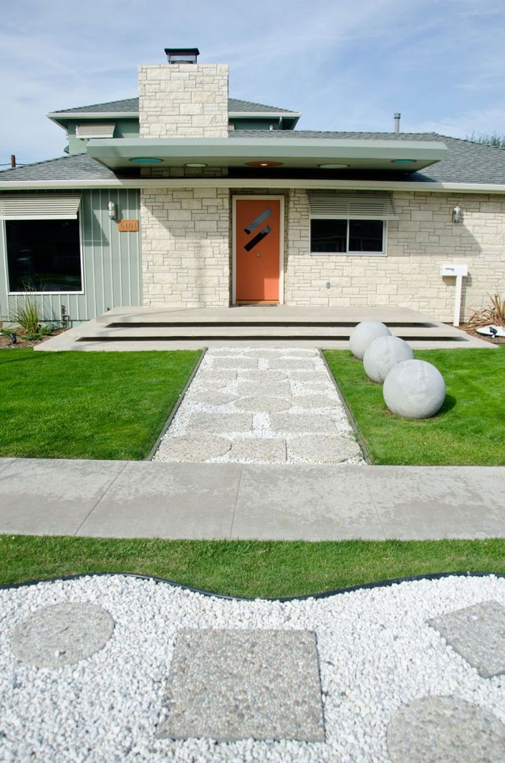 Mid Century Modern Style Exterior Design