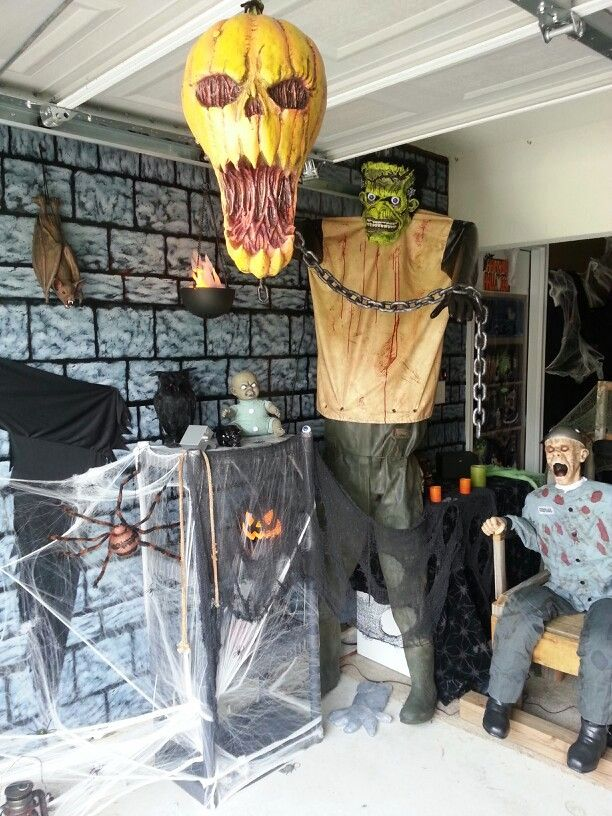 20 Garage Halloween Decorations Ideas Decoration Love